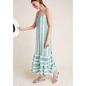 Lynda Striped Maxi Dress - Anthropologie